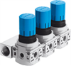 LRB-1/4-DB-7-O-K3-MINI Pressure regulator manifold -- 540041