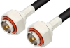 7/16 DIN Male to 7/16 DIN Male Cable 48 Inch Length Using RG213 Coax -- PE3199-48 -Image