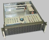 3U Rackmount Chassis for ATX Motherboard, 7 Slots, 4 Fans, 7 Bays -- CLM-7334