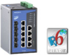 DIN-Rail Managed Ethernet Switch -- EDS-G509 Series - Image