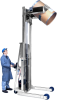 Mobile drum handlers to lift and pour drum -- Morse