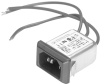 Snap-in Power Entry Modules with Wire Leads