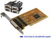4-Port Serial PCI (16C950) (4x9pin) Card -- PS430