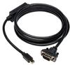 Mini DisplayPort to VGA Cable Adapter (M/M) 6-ft -- P586-006-VGA