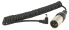 Litepanels +XLR Mini Plus Coiled 4-pin XLR Power Cable -- XLR (+XLR)