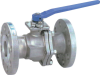 2-PC Flanged End Industrial Ball Valve -- EA-25J-FS-300 -- View Larger Image