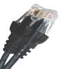 CAT6 550MHZ ETHERNET PATCH CORD BLACK 5 FT NB -- 26-274-60