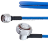 Low PIM N Male to RA 7/16 DIN Male Plenum Cable SPP-250-LLPL Coax in 200 CM and RoHS -- FMCA1311-200CM -Image