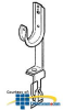 Erico Cable Clip -- CAT12528