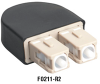 SC Loopback Connectors, 62.5-/125-um -- FO211-R2