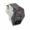 Power Entry Connectors - Inlets, Outlets, Modules -- 1-6609104-4-ND - Image