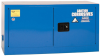Eagle 15 gal Blue Hazardous Material Storage Cabinet - 43 in Width - 22 1/4 in Height - Bench Top - 048441-33413 -- 048441-33413 - Image