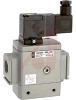 Valve, Pneumatic; 1/2 in.; 24 VDC; 1.8 W; DIN; 0.2 to 1 MPa; 0 to 60 degC -- 70070488