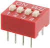 DIP Switches -- 732-3834-5-ND -Image