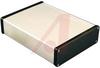 Enclosure; Extruded Aluminum; Plastic; 0.06 in.; Black Anodized -- 70163886