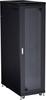 "42U Split REAR DOOR Cabinet 24""W x 42""D TEMP GLASS -- RM2650A -- View Larger Image"