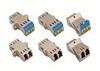 LC Duplex EMI Fiber Optic Adapters