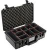 Pelican 1525 Air Case with TrekPak Dividers - Black | SPECIAL PRICE IN CART -- PEL-015250-0050-110 -Image