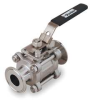 Ball Valve,2 In,Clamp,316 SS,Full Port -- 1RAV9