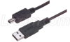Premium USB Cable Type A - Mini B 4 Position, 1.0m -- CSMUAMB4-1M