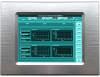 6.5 Inch Panel Mount Industrial Panel PC with IP67