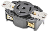 30A Heavy-duty Single Receptacle: locking, 277/480 VAC, NEMA L22-30 -- 72230FR