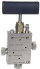 High Pressure, 3-way 2 Stem Manifold -- 36V9H