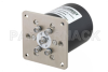 SP4T Electromechanical Relay Latching Switch, Terminated, DC to 18 GHz, up to 90W, 12V, SMA -- PE71S6364 - Image