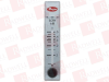 DWYER RMA-6-SSV ( FLOW METER 2IN SCALE 2-20SCFH AIR SS VALVE ) -- View Larger Image