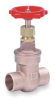 Gate Valve,Bronze,1/2 In Solder -- 1WEF2