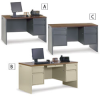 SANDUSKY LEE Office Desks -- 3645321