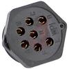 7 Position Female Circular Panel Connector -- 70144725