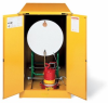 Justrite Horizontal Drum Safety Cabinet -- STR106