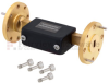 WR-19 Waveguide Attenuator Fixed 22 dB Operating from 40 GHz to 60 GHz, UG-383/U-Mod Round Cover Flange -- FMWAT1003-22 -Image