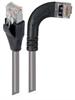Category 5E Shielded LSZH Right Angle Patch Cable, Straight/Right Angle Right, Gray, 15.0 ft -- TRD815SZRA7GRY-15 -Image