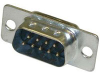 9Pin Dsub Solder Connector Male Body -- 409709MS - Image