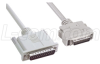 IEEE-1284 Molded Cable, DB25M / Half Pitch 36M, 3.0m -- CSM84AC-3M -Image