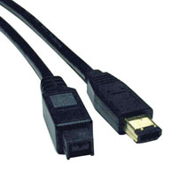 "ripp Lite's IEEE-1394b, or FireWire 800 cables, are the latest in FireWire technology, with data transfer speeds up to 800Mbps, twice the speed of original FireWire. The 9-pin to 6-pin FireWire 800 - FireWire cable (also known as a ""bilingual"" cable)"