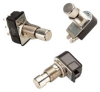 Non-Lighted Pushbutton Switch Nickel Plated Metallic SPST -- 78020697349-1