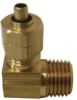 Ander-Lign Tube to Male Pipe Elbow with Brass Insert -- No. 969