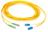 FC UPC/APC Single-Mode Fiber Optic Cable, FC/APC-SC, Duplex, 10-m (32.8-ft.) -- EFN6006-010M