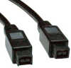 FireWire 800 IEEE 1394b Hi-speed Cable (9pin/9pin) 6-ft. -- F015-006