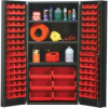 """Heavy-Duty All-Welded Storage Cabinets - 36"""" Wide - QSC-36S - Image"""