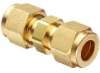 Parker CPI 6-6 HBZ-B Brass Compression Tube Fitting, Uni… -- 6-6 HBZ-B