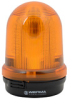 BEACON YEL LED 115-230VAC ROTATING 98mm BASE MOUNT -- 82931068
