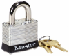 Keyed-Different Steel Safety Padlock -- LCK242