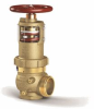"ZW5000STCCCH - 2-1/2"" Pressure-Tru® Field Adjustable Pressure Reducing Hose Valve (Angle Body, FNPT x Special Thread, Chrome Finish, w/cap and chain) -- View Larger Image"