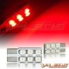 RED 6 LED FLANK BULBS 194 168 158 2825 | 1 PAIR -- 194_6F_R