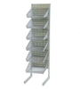 Wire Shelving - Partition Wall Systems - Complete Packages - Louvered Panels - WS-SS36-Q12BC3