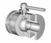 2 Piece Body Forged Floating Flanged Ball Valve